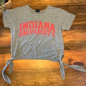 Indiana university crop top